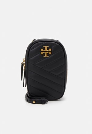 KIRA CHEVRON CROSSBODY - Across body bag - black