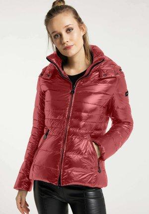 NEW ISTRESS - Down jacket - dark rose