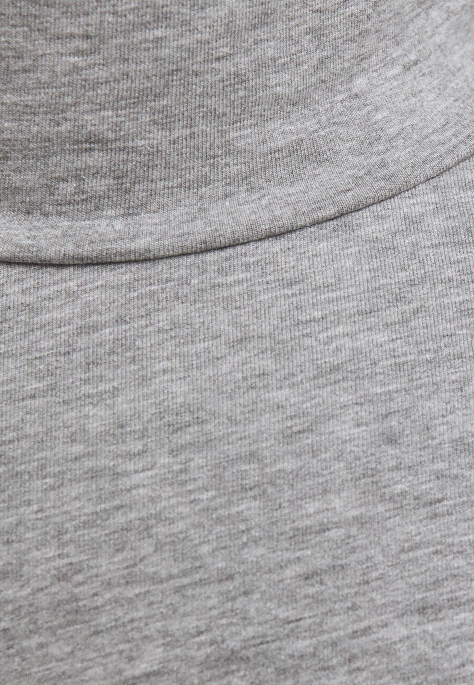 Lindbergh TURTLE NECK TEE - Long sleeved top - light grey mel Nd5sU