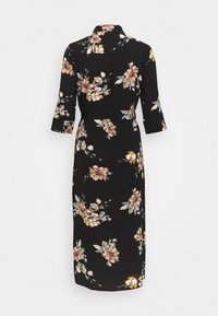 ONLY - ONLNOVA LUX  SHIRT DRESS - Sukienka koszulowa - black - 1