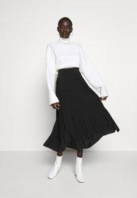 Anna Field Tall - Áčková sukně - black - 1