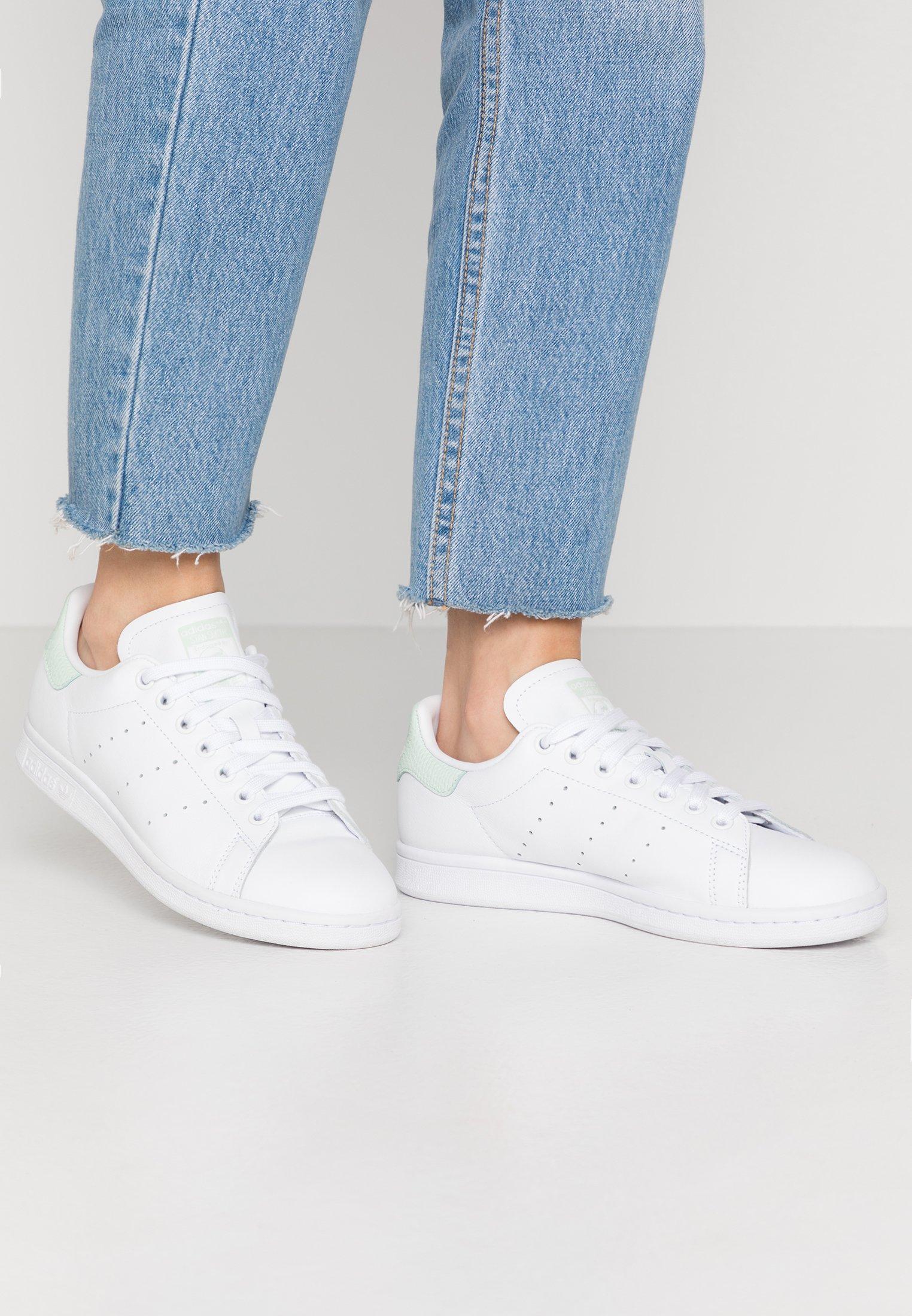 STAN SMITH - Sneakers laag - footwear white/dash green/core black