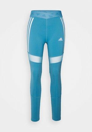 Legging - hazy blue/white