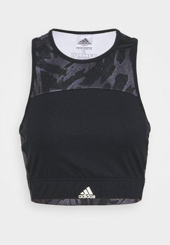 Brassières de sport à maintien léger - black/white