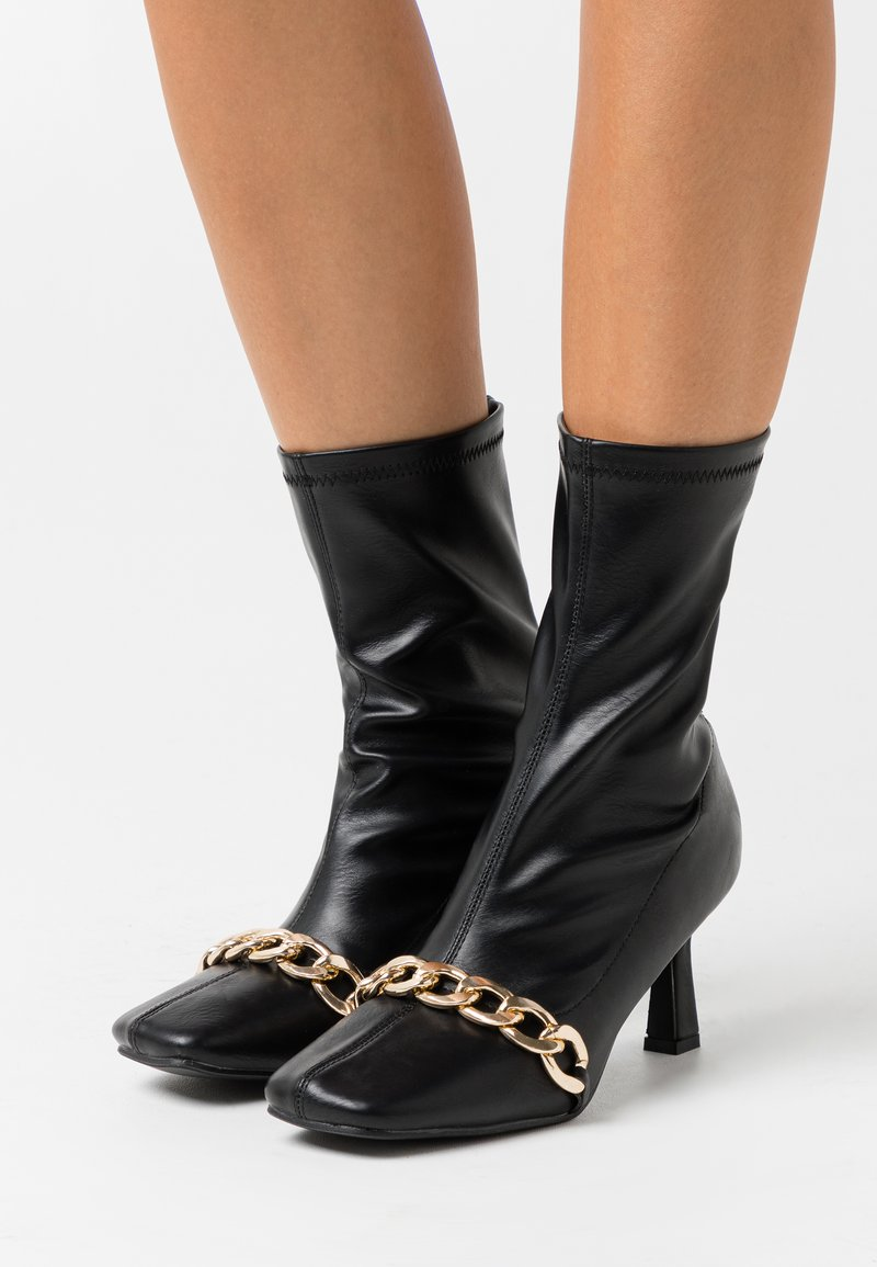 4th & Reckless - TAMSIN - Kotníkové boty - black
