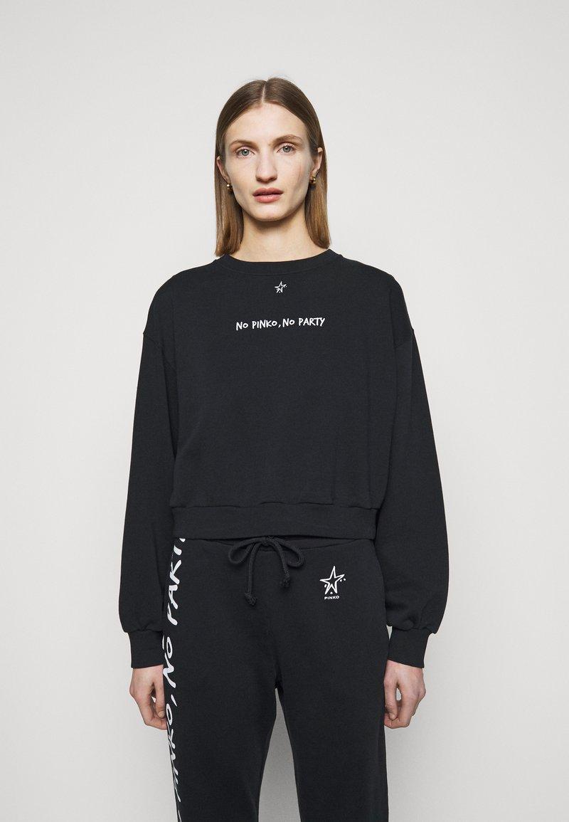 Pinko - Sweatshirt - black