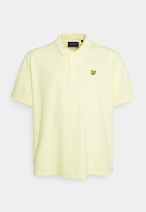 PLUS PLAIN  - Polo - lemon