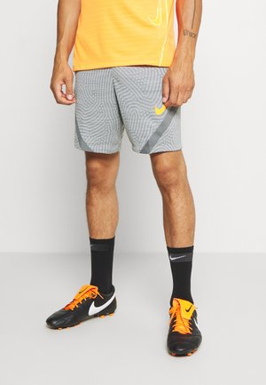 DRY STRIKE SHORT - Sports shorts - smoke grey/heather/total orange