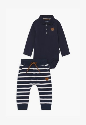 SET - Trousers - dark blue