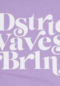 YOURTURN - UNISEX - T-shirt med print - purple - 6