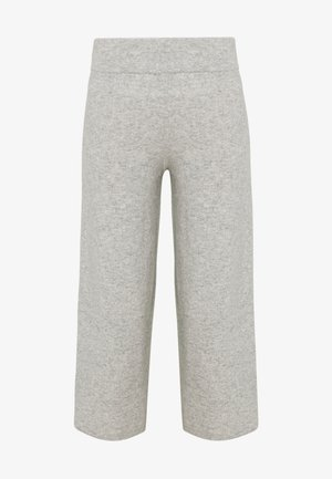 TROUSERS - Trousers - silver stone