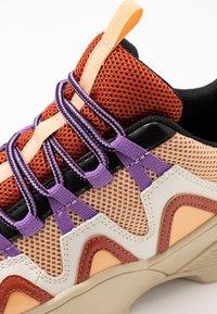 Monki - VEGAN SONIA - Sneakers - beige/lilac - 2
