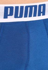 Puma - BASIC 2 PACK - Shorty - blue - 3