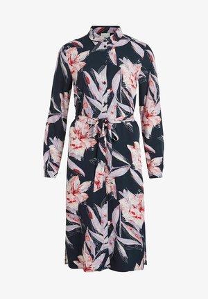 VIDANIA BELT DRESS - Paitamekko - navy blazer