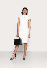 Adrianna Papell - CREPE TIE BACK SHEATH - Cocktail dress / Party dress - ivory - 1