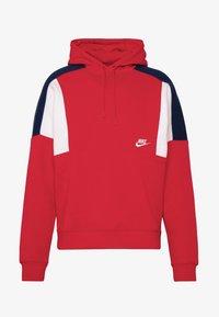 Nike Sportswear - HOODIE - Bluza z kapturem - university red/white/industrial blue - 4
