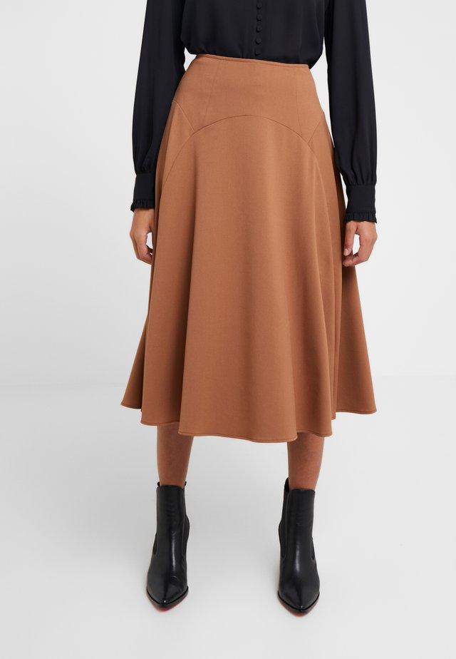 MASTER - A-line skirt - kamel
