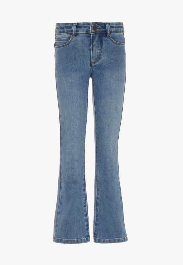 ALIZA - Jeans Bootcut - mid blue wash