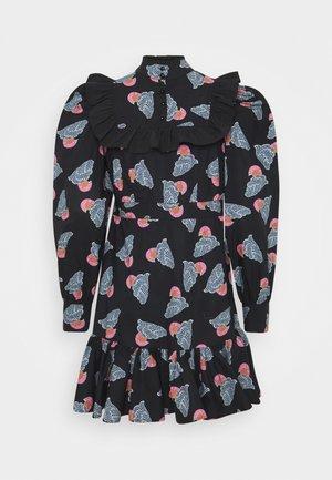 HAZEL - Košilové šaty - antracite/black