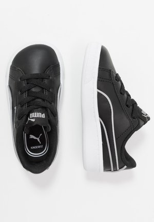 VIKKY - Slip-ons - black/silver/white