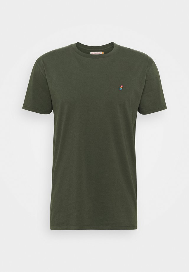 REGULAR - Basic T-shirt - army