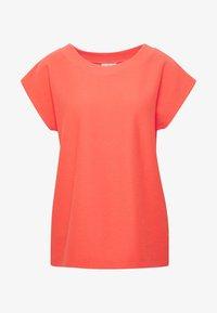 BETH - Basic T-shirt - living coral