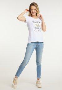 Schmuddelwedda - Print T-shirt - white - 1
