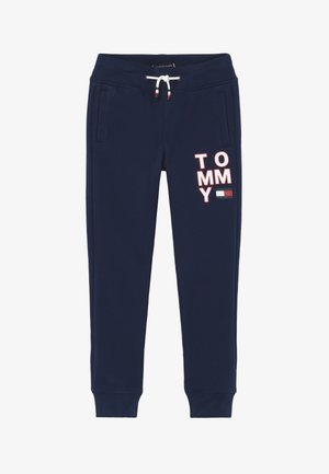 GRAPHIC - Tracksuit bottoms - blue