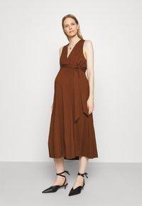 IVY & OAK Maternity - DOREEN - Maxi dress - marsalla - 0