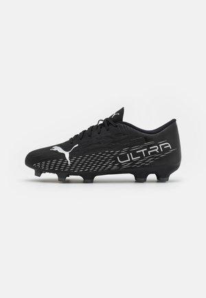ULTRA 4.3 FG/AG - Voetbalschoenen met kunststof noppen - black/silver/asphalt