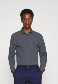 Tommy Hilfiger Tailored - GEO DOT - Formal shirt - navy/light blue - 0