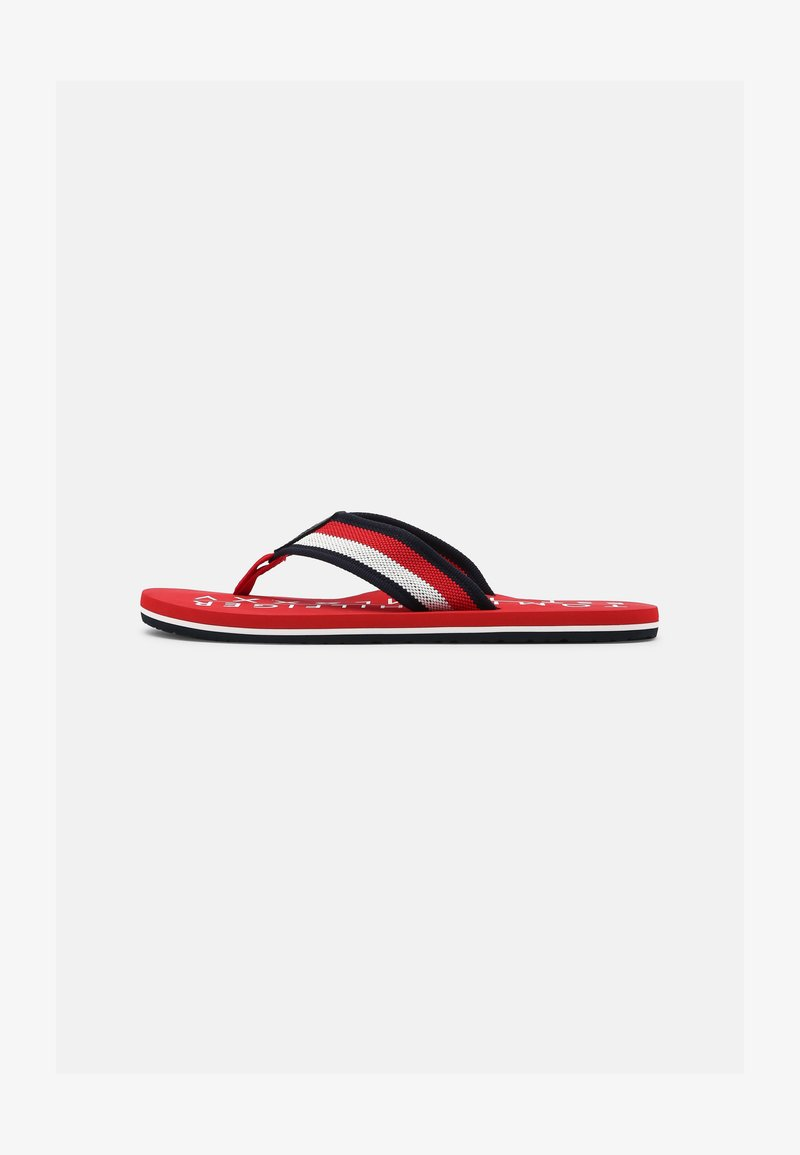 Tommy Hilfiger - T-bar sandals - primary red