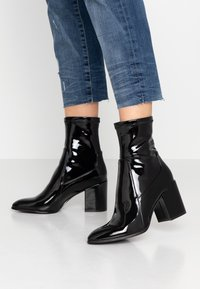 Even&Odd - Korte laarzen - black - 0
