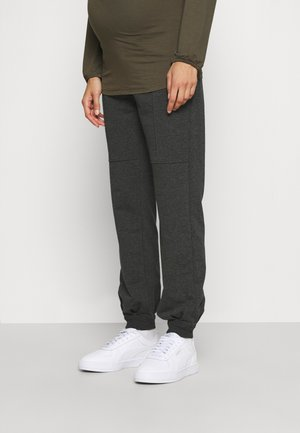 PANTS RELAX - Tracksuit bottoms - anthracite