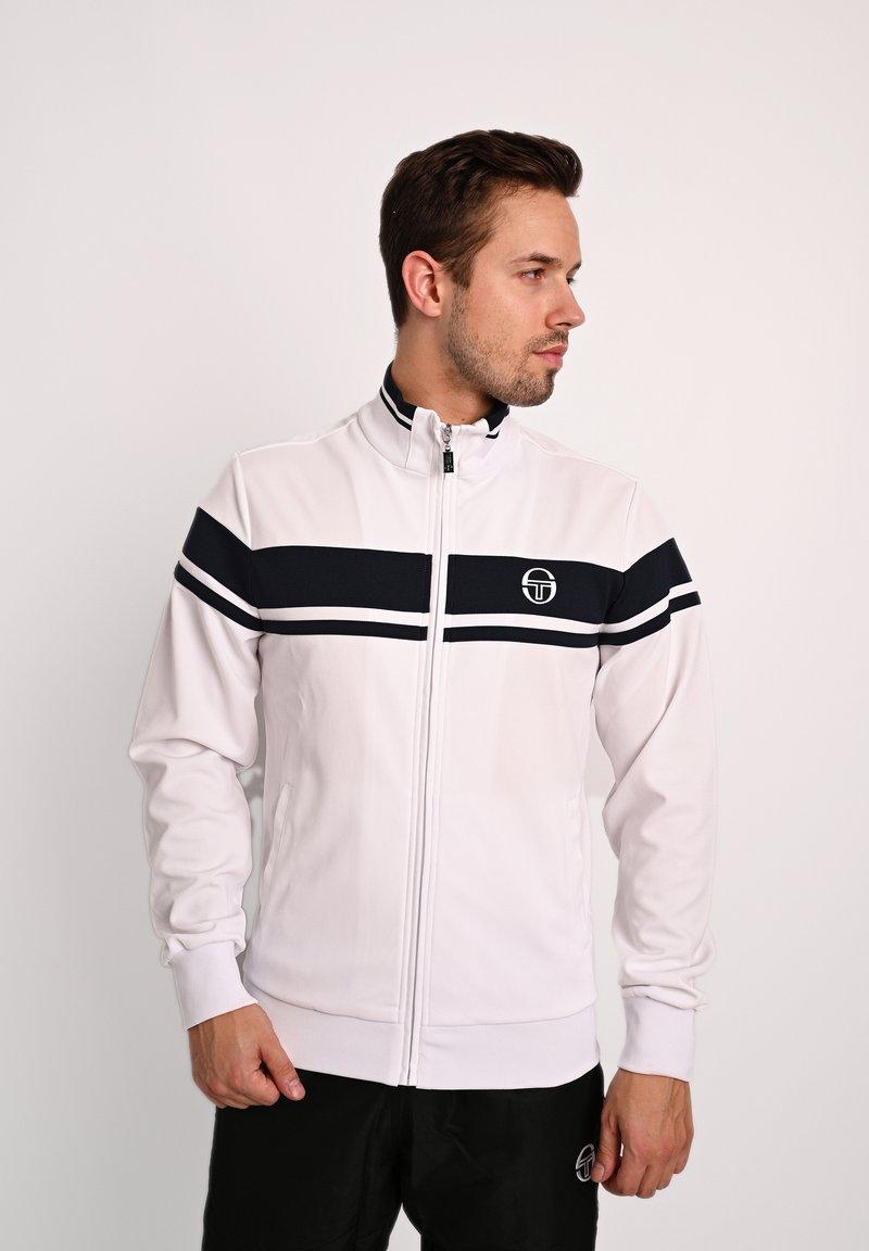 sergio tacchini - DAMARINDO - Training jacket - white/navy