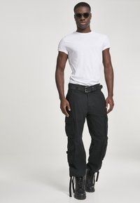 Brandit - Cargo trousers - black - 1