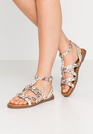 JULIA - Sandals - natural