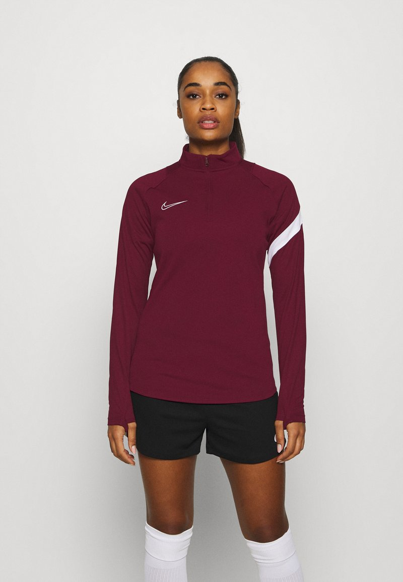 Nike Performance - DRY - Funktionstrøjer - dark beetroot/white