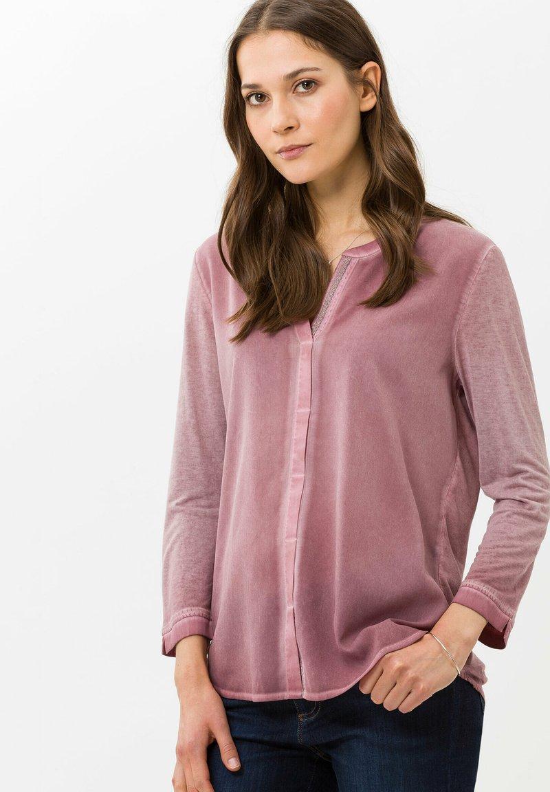 BRAX - STYLE CLARISSA - T-shirt à manches longues - pink