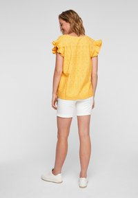 s.Oliver - ANGLAISE - Blouse - yellow - 2
