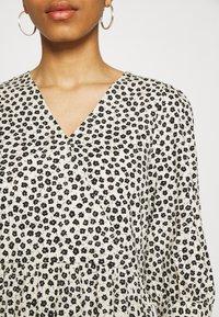 Moss Copenhagen - LATRICE DRESS - Day dress - ecru - 4