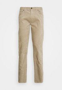 DAREN ZIP FLY - Trousers - beige