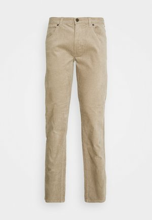 DAREN ZIP FLY - Trousers - beige
