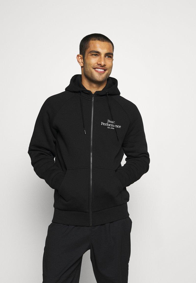 Peak Performance - ORIGINAL ZIP HOOD - Sweatshirt - black