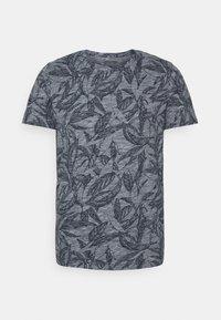Jack & Jones - JORLEFO TEE CREW NECK - T-shirt con stampa - navy blazer - 0