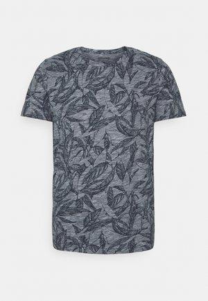JORLEFO TEE CREW NECK - Printtipaita - navy blazer