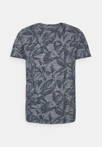 JORLEFO TEE CREW NECK - Print T-shirt - navy blazer