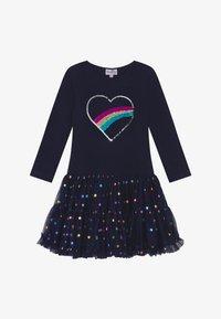 happy girls - Žerzejové šaty - navy - 3