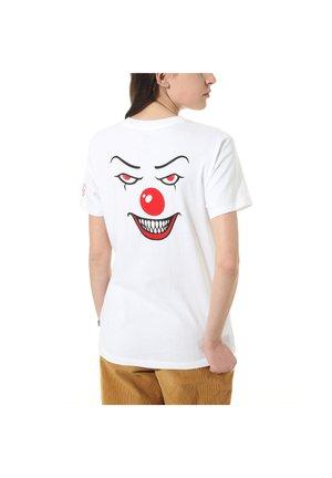 WM VANS X IT TEE - T-shirt con stampa - (terror) it