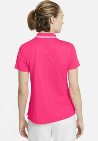 Nike Golf - DRY VICTORY - Sports shirt - hyper pink/white/white - 2